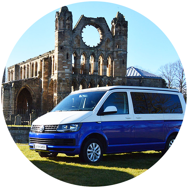 Camper Van and Motor Home Rentals in Elgin, Moray