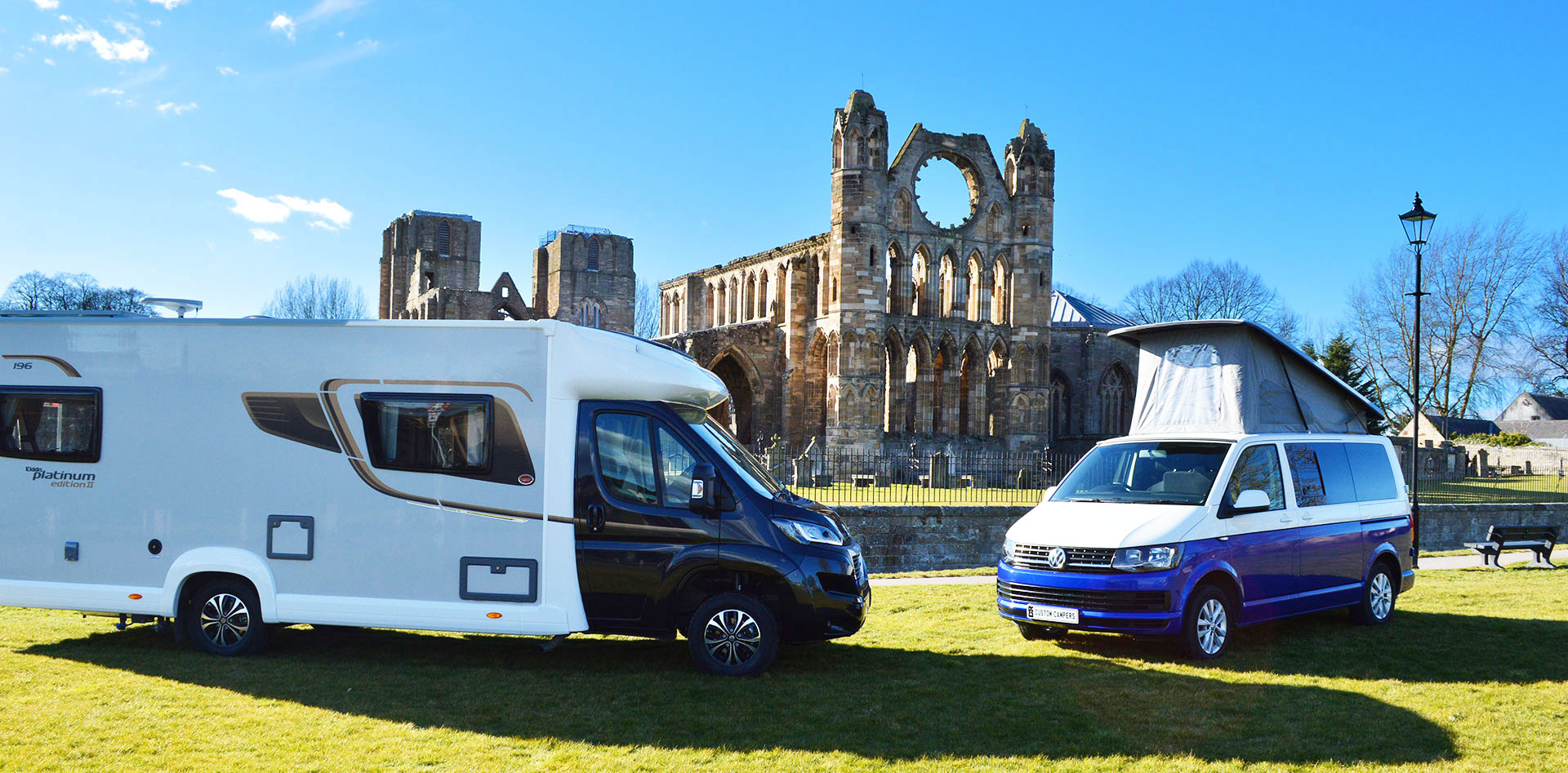 Camper Van and Motor Home Hire, Elgin, Moray.
